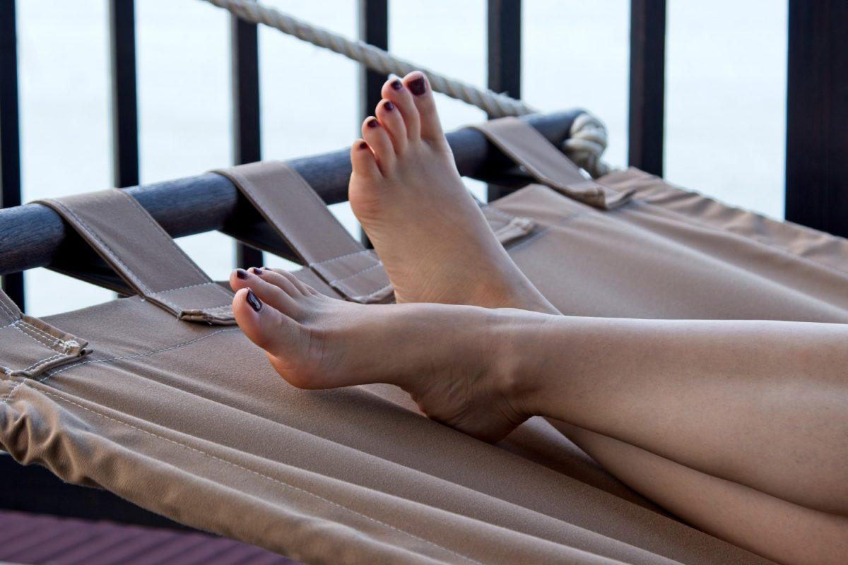 Hamak na balkonie? Czemu nie!